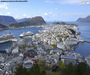 Rompicapo di Ålesund, Norvegia