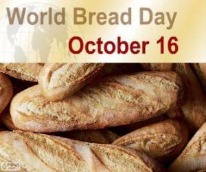 Rompicapo di 16 Ottobre, giornata mondiale del pane