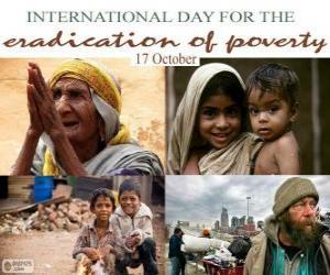 Rompicapo di 17 ottobre, Giornata mondiale del rifiuto della miseria