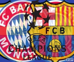 Rompicapo di 2a semi Champions 14-15
