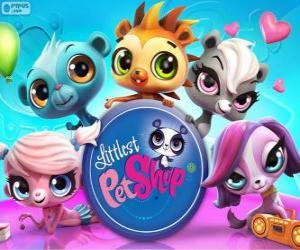Rompicapo di 5 animali di Littlest PetShop