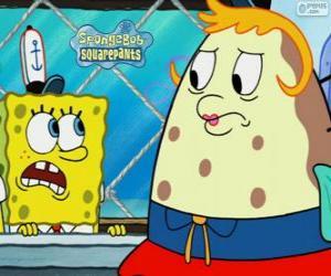 Rompicapo di SpongeBob e la signora Puff