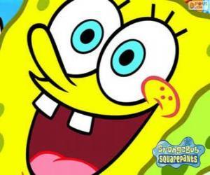 Rompicapo di SpongeBob è l'eroe delle avventure di Bikini Bottom