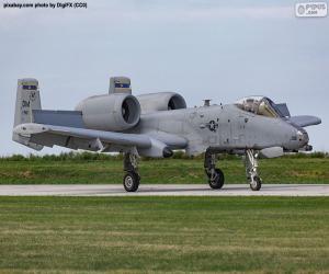 Rompicapo di A-10A Thunderbolt II