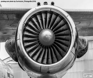 Rompicapo di A turbina per aerei