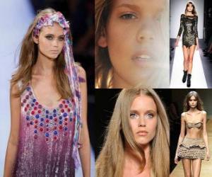 Rompicapo di Abbey Lee è un modello australiano