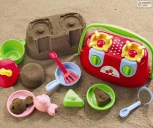 Rompicapo di Accessori per giocare sulla spiaggia