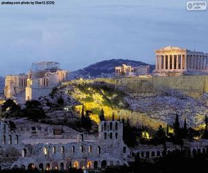 Rompicapo di Acropoli di Atene, Grecia