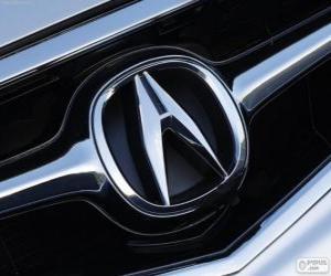 Rompicapo di Acura logo, marchio automobilistico giapponese