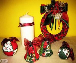 Rompicapo di Addobbi natalizi assortiti