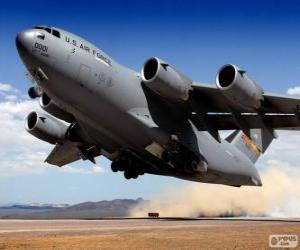 Rompicapo di Aerei militari Boeing C-17 Globemaster III