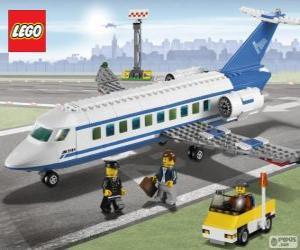 Rompicapo di Aereo di passeggeri de Lego