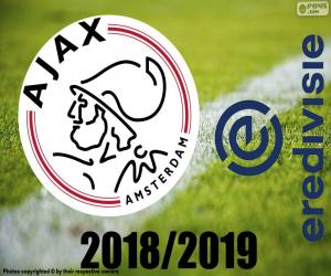 Rompicapo di AFC Ajax, campione 2018-2019