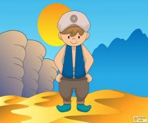 Rompicapo di Aladdin, il protagonista è un giovane povero