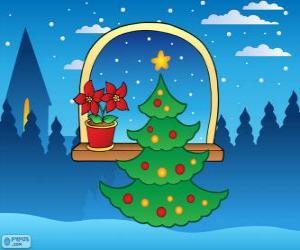 Rompicapo di Albero di Natale decorato
