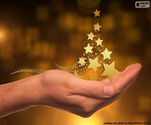 Rompicapo di Albero di Natale, stelle