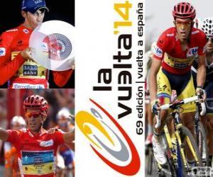 Rompicapo di Alberto Contador, campione del Giro di Spagna 2014