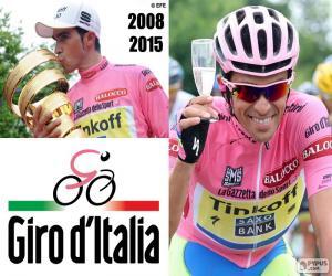Rompicapo di Alberto Contador, Giro 2015