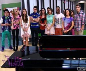 Rompicapo di Alcuni personaggi di Violetta 2