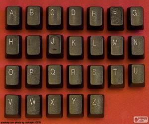 Rompicapo di Alfabeto i tasti
