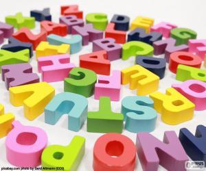 Rompicapo di Alfabeto in spirale