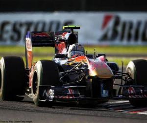 Rompicapo di Alguersuari - Toro Rosso - Suzuka 2010