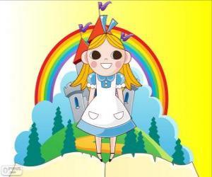 Rompicapo di Alice, la bambina nel paese delle meraviglie