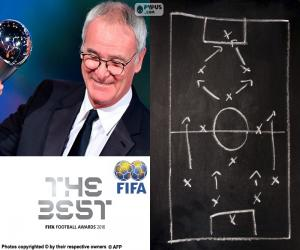 Rompicapo di Allenatore dell'anno FIFA 2016