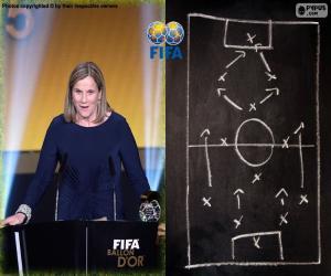 Rompicapo di Allenatore femminile FIFA 2015