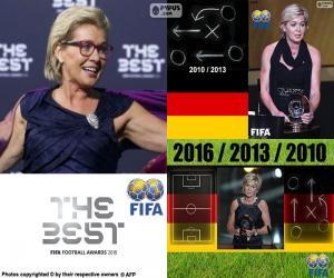 Rompicapo di Allenatore femminile FIFA 2016