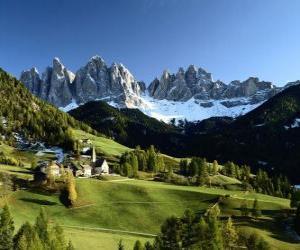 Rompicapo di Alpi svizzere