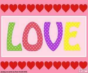 Rompicapo di Amore e cuori