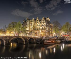 Rompicapo di Amsterdam di notte, Paesi Bassi