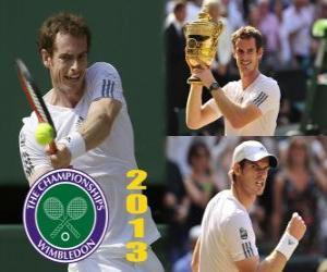 Rompicapo di Andy Murray campione di Wimbledon 2013