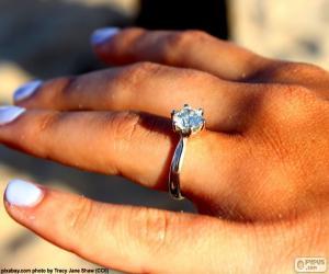 Rompicapo di Anello di fidanzamento
