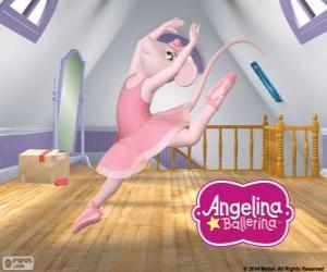 Rompicapo di Angelina Ballerina ama la danza