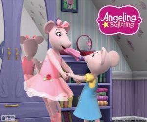 Rompicapo di Angelina Ballerina e la sua amata sorella Polly