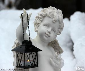 Rompicapo di Angelo con lanterna