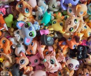 Rompicapo di Animali domestici da Littlest PetShop