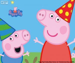 Rompicapo di Anniversario di Peppa Pig