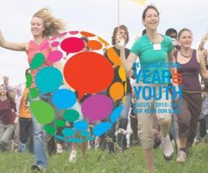 Rompicapo di Anno Internazionale della Gioventù. Agosto 2010 - 2011. Il nostro anno, la nostra voce