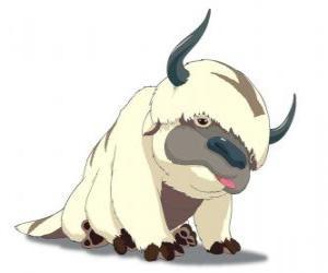 Rompicapo di Appa, bisonte volante di Aang