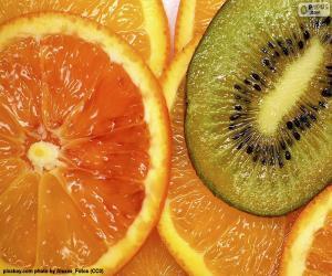 Rompicapo di Arancione e Kiwi