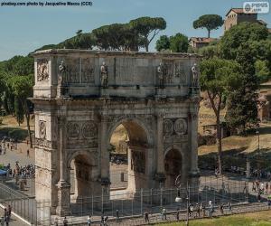 Rompicapo di Arco di Costantino, Roma