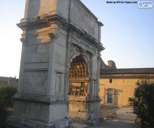 Rompicapo di Arco di Tito, Roma