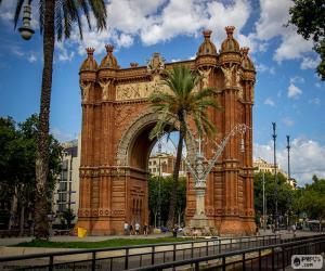 Rompicapo di Arco di Trionfo, Barcellona