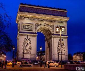 Rompicapo di Arco di Trionfo, Parigi