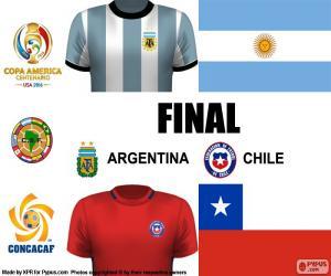 Rompicapo di ARG-CHI finale Copa America 16