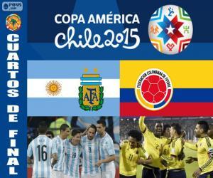 Rompicapo di ARG - COL, Copa America 2015