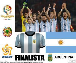 Rompicapo di ARG finalista Copa America 2016